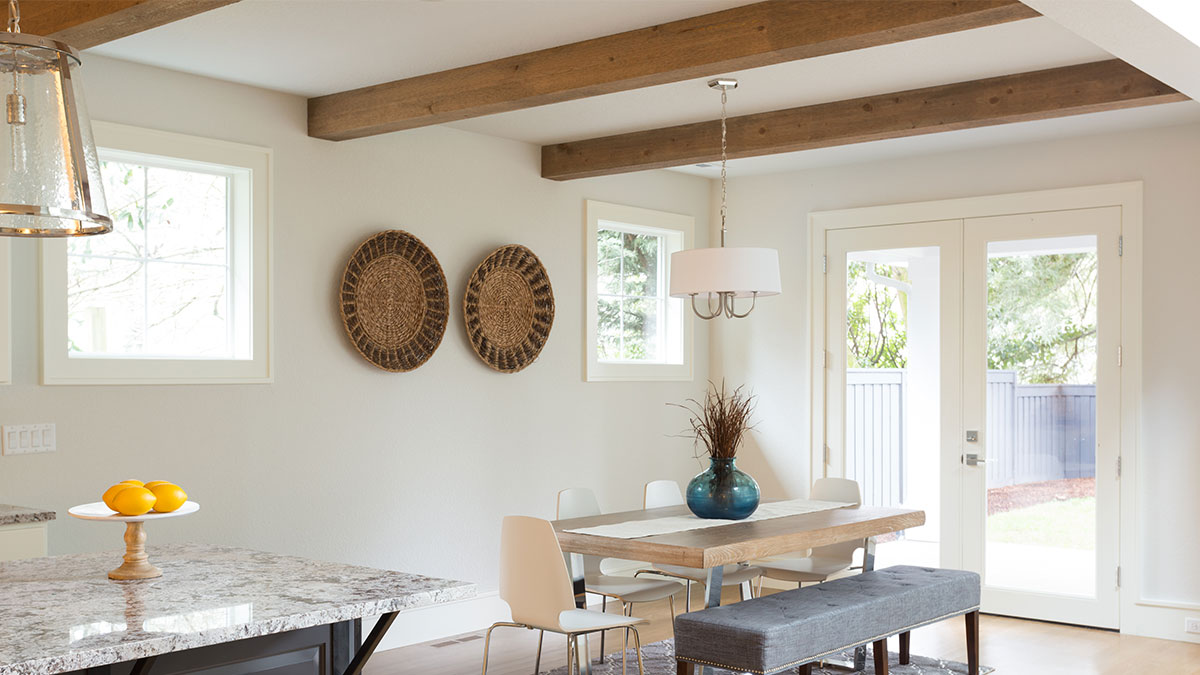How To Get The Look Faux Wood Beams Diy Tips