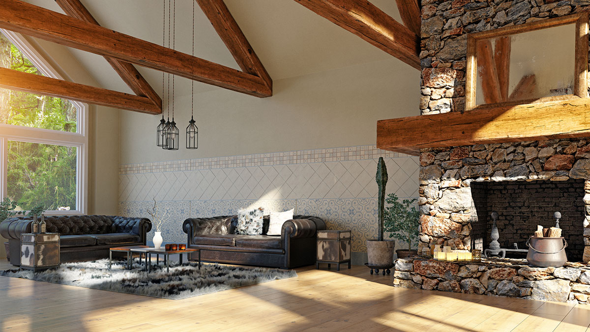 Image of: How To Get The Look Faux Wood Beams Diy Tips
